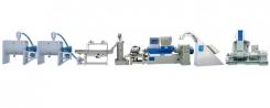 橡塑胶PVC、TPR、EVA类双腕式高速造粒整厂设备(水冷式)