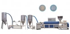 PVC塑胶造粒机(风冷式)